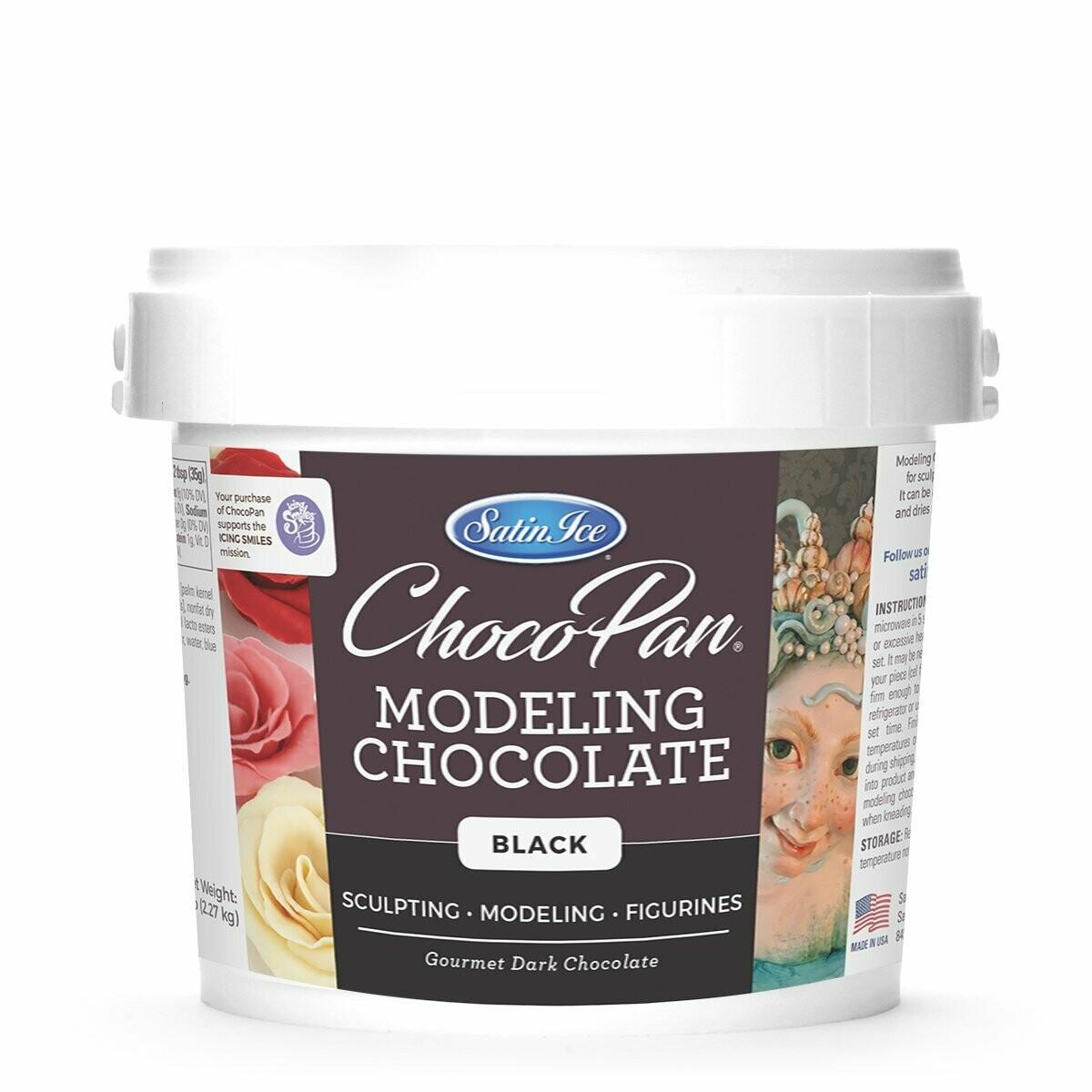 ChocoPan Modeling Chocolate 5lb Black