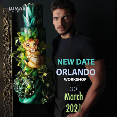New Date MARCH 30th 2021 Simba Intensive Workshop by Luma's Cake