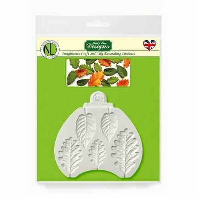 Blackberry & Oak Leaves by Nicholas Lodge