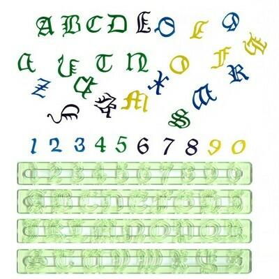 FMM Old English Alphabet + Number UC