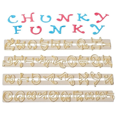 FMM Chunky Funky Alphabet + Number UC