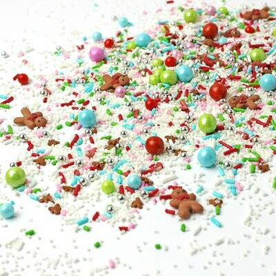 Santa's Workshop Sprinkle Mix