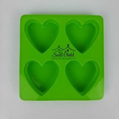 Simi Heart Silicone Mold
