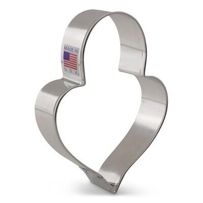 LilaLoa Heart Padlock Cutter