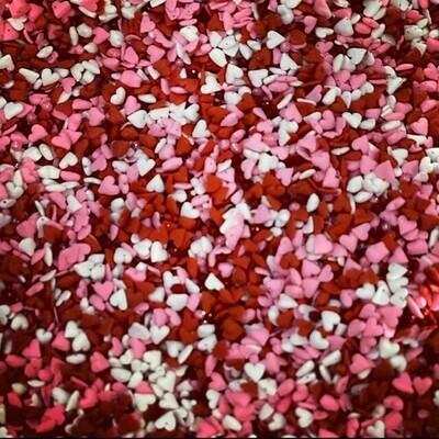 Valentines Mini Hearts Sprinkle Mix #2