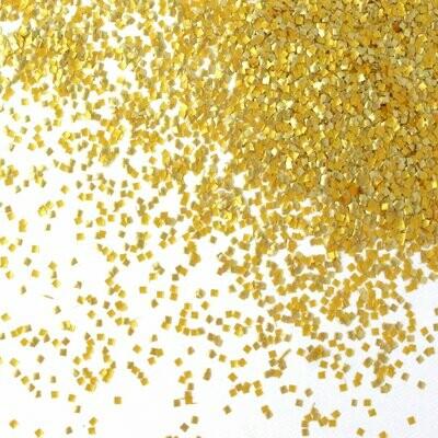 Gold Glitter Squares