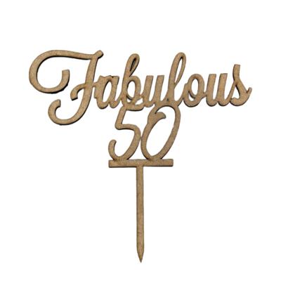 Fabulous 50 Topper