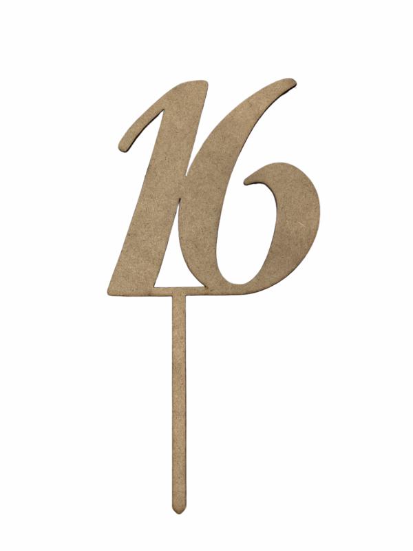 16# Topper
