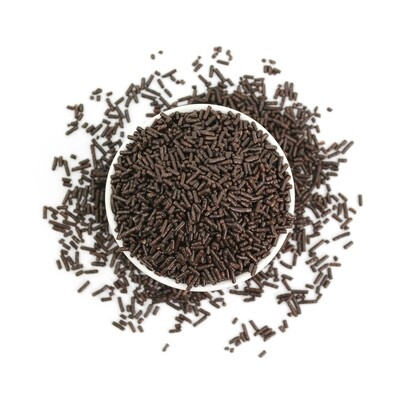 Vermicelli Dark Sprinkles 5 oz