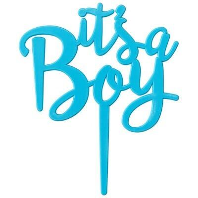 It's A Boy Topper