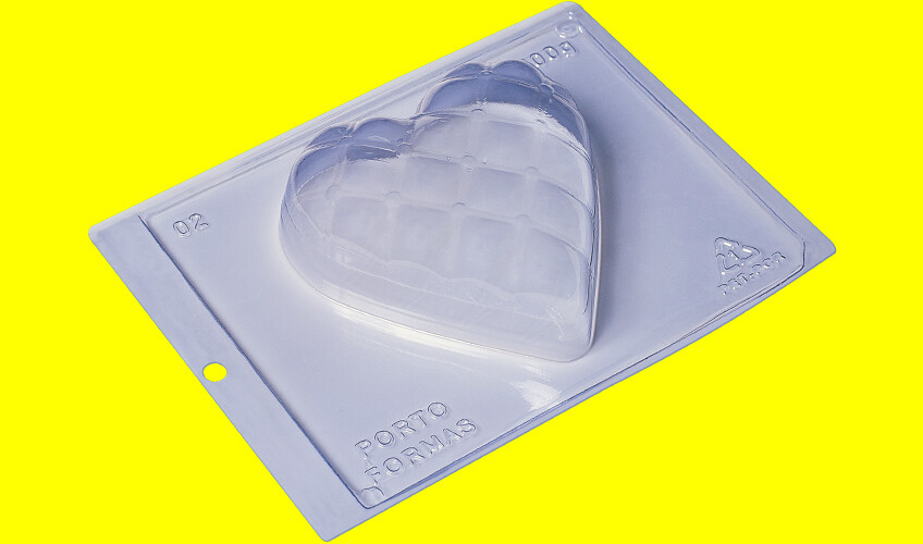 Large Pillow Heart Mold
