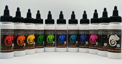 Artisan Accent Chocolate Chameleon Candy Colors