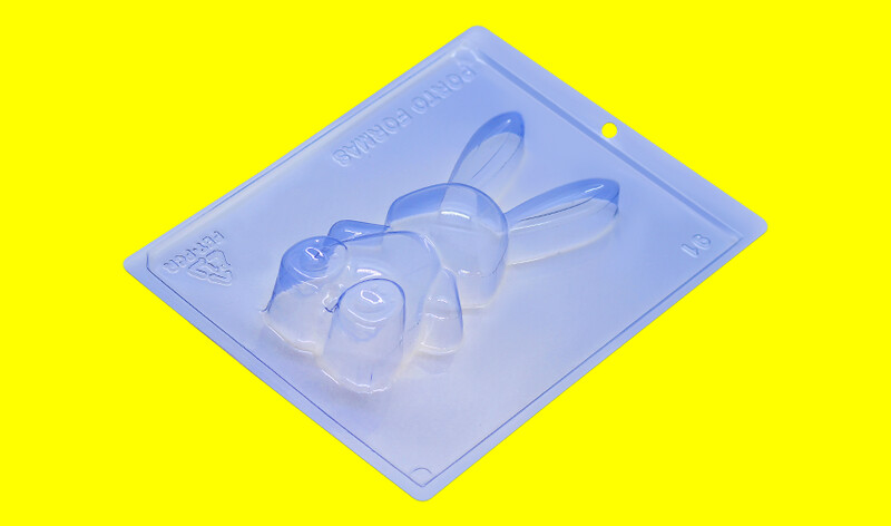 3D Easter Bunny 3-Part Choco Mold
