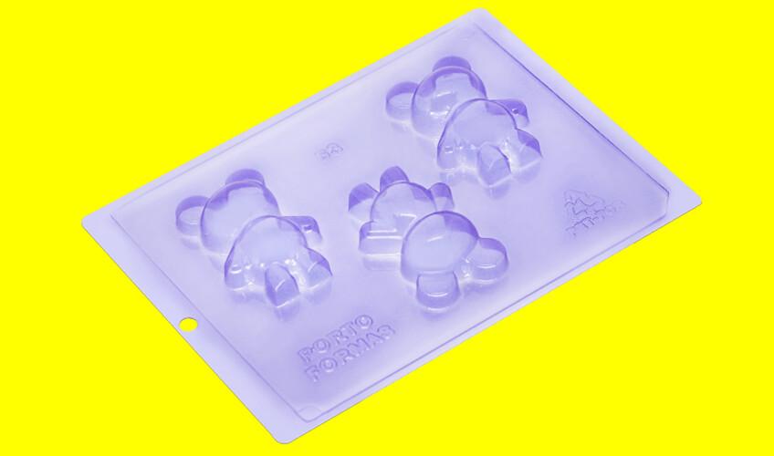 Baby Bear 3-part Choco Mold