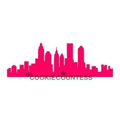 CC City Skyline Stencil