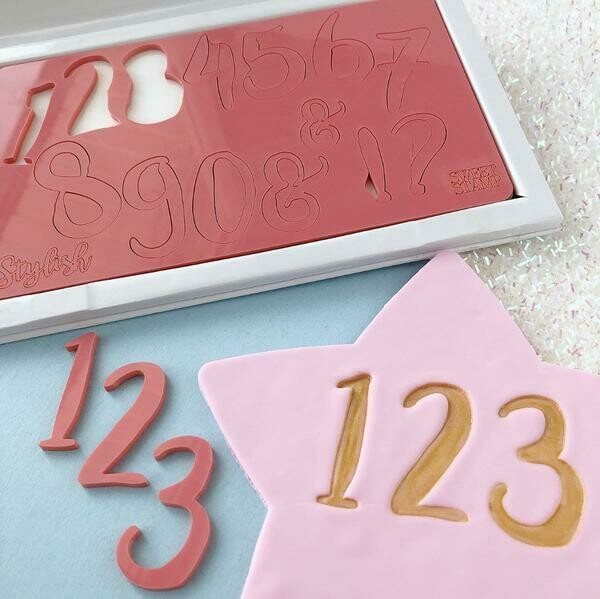 Sweet Stamp Stylish Set (Numbers & Symbols)