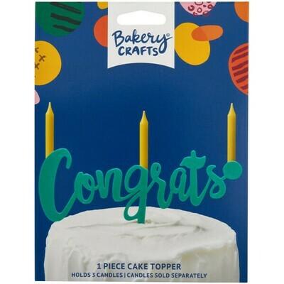 Congrats Green Topper