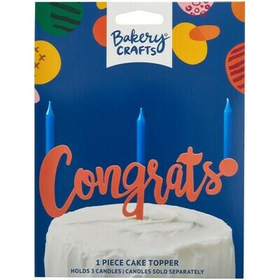 Congrats Peach Topper
