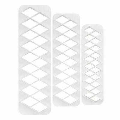 Ateco Diamond Shape Cutters