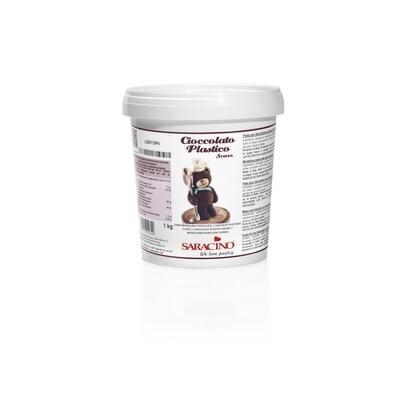 Saracino Brown Modeling Chocolate 1 kg (2.2lbs)