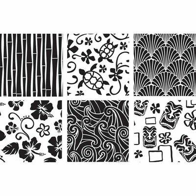 Hawaiian Texture Sheet