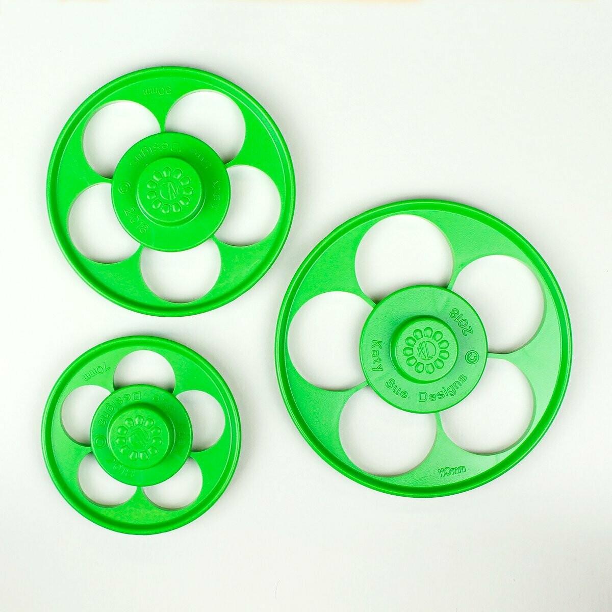 NL Five Petal Rose Cutter Set/3