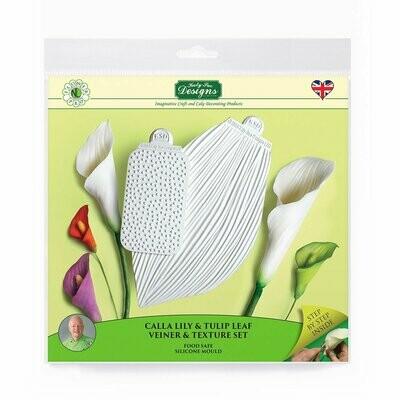 NL Calla Lily/Tulip Leaf Veiner & Texture Set