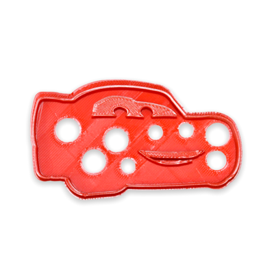 Lightning McQueen Cookie Cutters