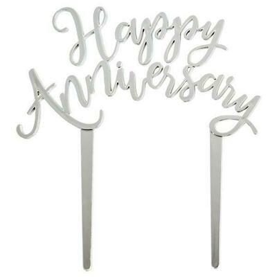 Happy Anniversary Silver
