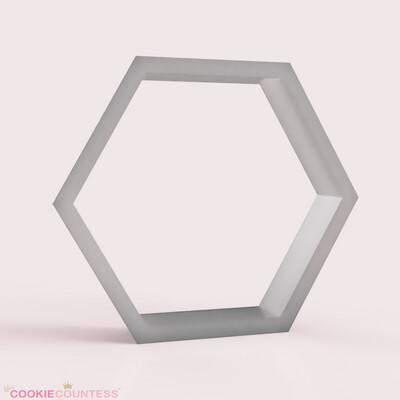 CC Hexagon Cookie Cutter