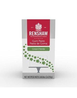 Renshaw Green Gum Paste 1.1 lb