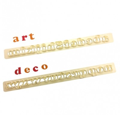 FMM Art Deco Alphabet Lower Case