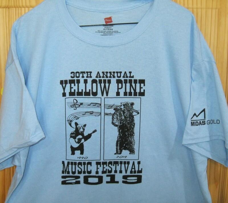 Light Blue 2019 Festival T-Shirt