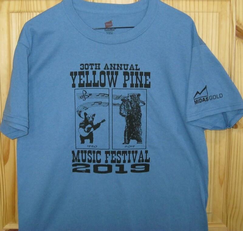 Denim Blue 2019 Festival T-shirt
