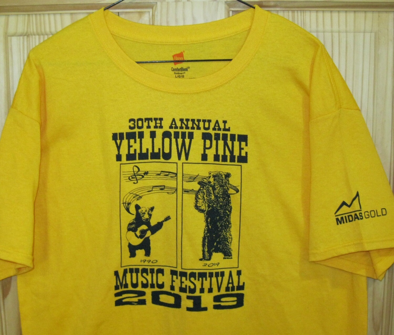 Goldenrod 2019 Festival T-shirt