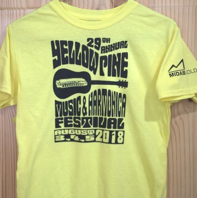 2018 Yellow Festival T-Shirt