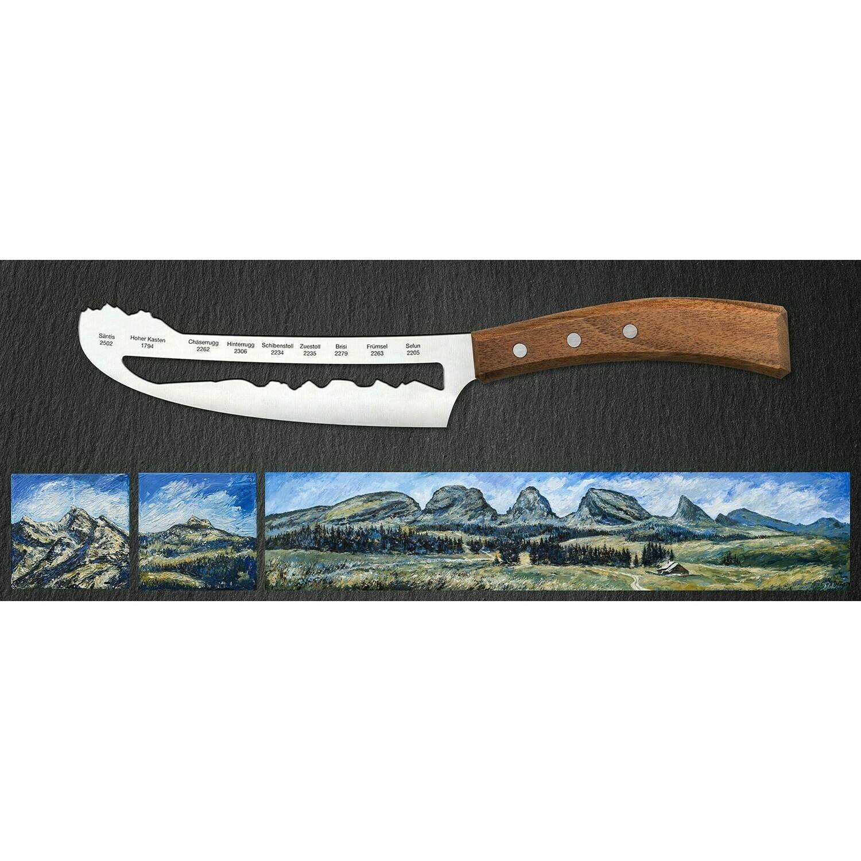 Käsemesser Alpstein - Churfisten, Panoramaknife