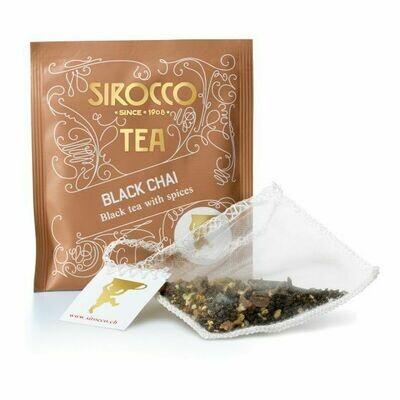 Sirocco Tee   Black Chai