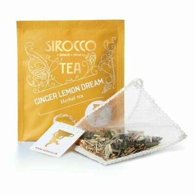 Sirocco Tee   Ginger Lemon Dream