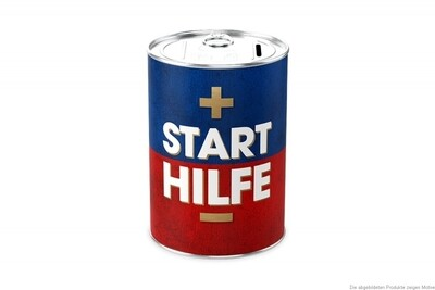 Spardose   -  Start Hilfe