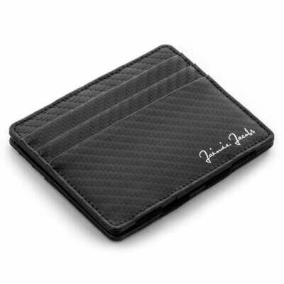 Flap Boy Slim RFID, Carbon | Black