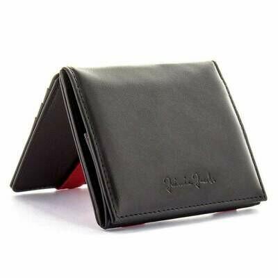 Flap Boy Pocket RFID, black | red