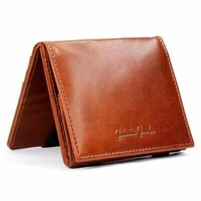 Flap Boy Pocket RFID, Dark Brown | Schwarz