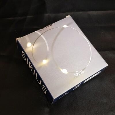 Sirius LED Lichterkette Knirke, silber 20 LED