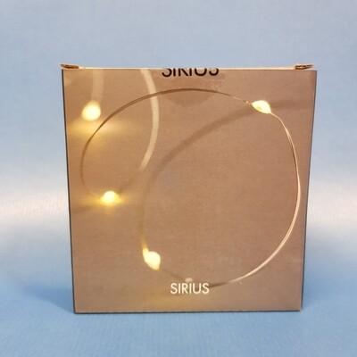 Sirius LED Lichterkette Knirke, silver 40 LED