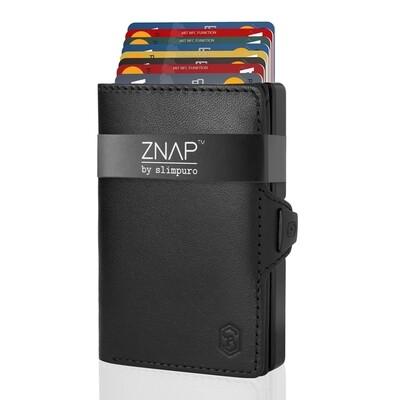 ZNAP - Echtleder schwarz,  8 Karten