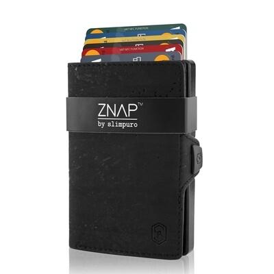 ZNAP - Korkleder schwarz,  8 Karten