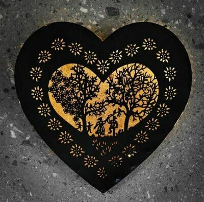 Alpenbild «Les Amoureux» Grand