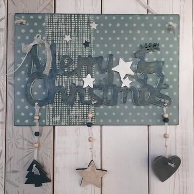 Schilderbilder Merry Christmas
