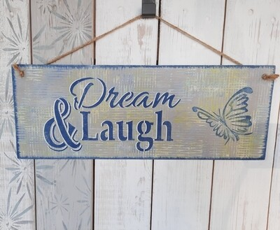 Schilderbilder Dream & Laugh